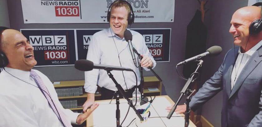 WBZ Radio Real Estate Talk Boston Pads