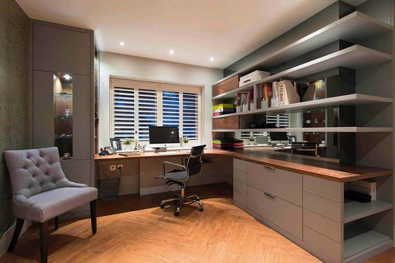 How to create a home office in your small space boston pads - Creating a small home office ...
