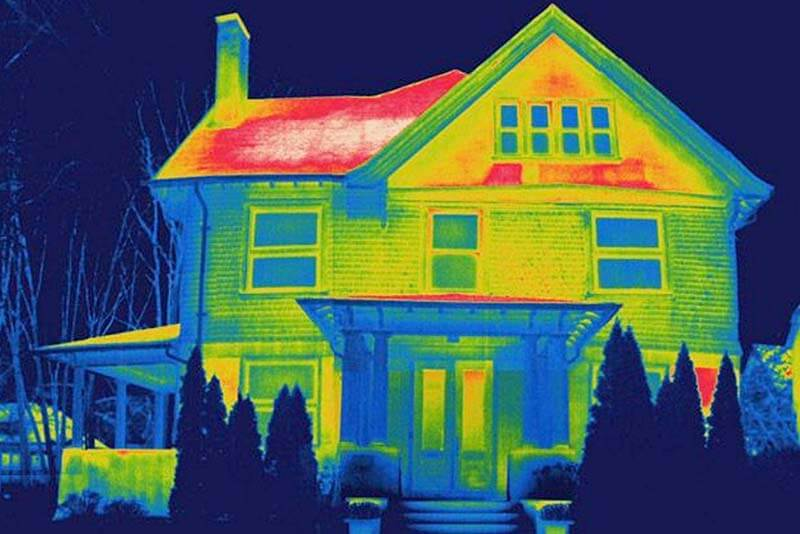 Heat Loss in House