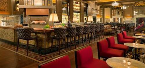 Oak Long Bar Boston