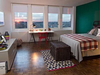 Ava Back Bay - Bedroom View