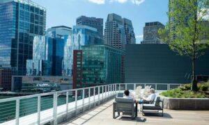 the benjamin patio view