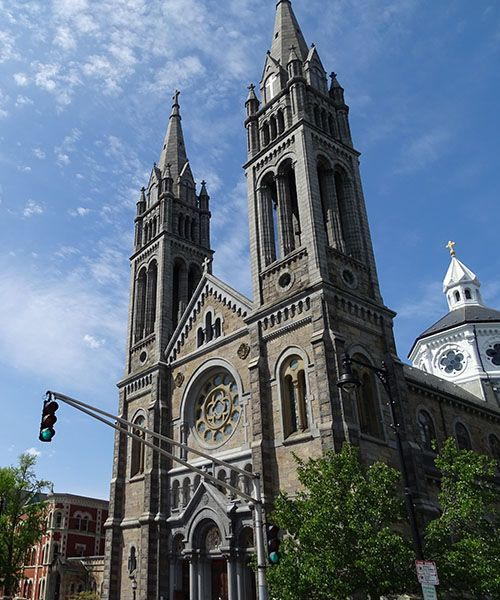 Mission Church - Basilica of Our Lady of Perpetual Help, Mission Hill, Boston, MA