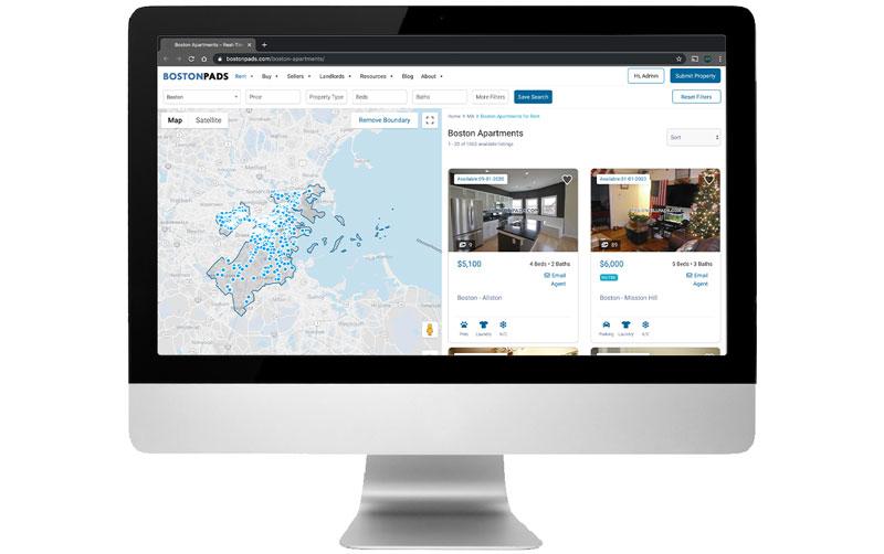 BostonPads.com Unveils Newly Redesigned Apartment Portal