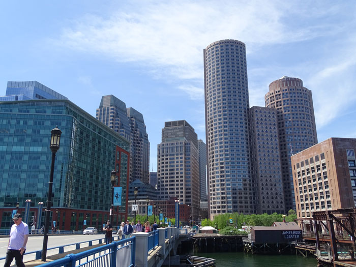 Downtown Harborside in Boston