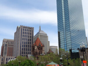 Prudential Building In Boston