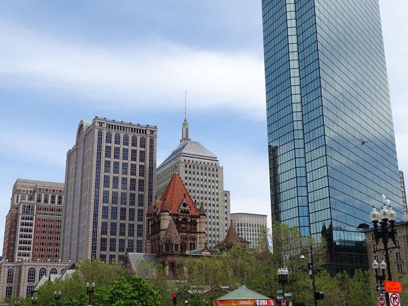 Prudential Building In Boston