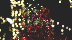 Take in the Lights at a Tree-Lighting Ceremony