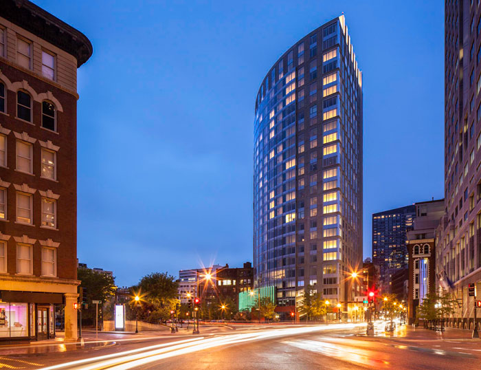 The Radian in Downtown Boston (Chinatown)