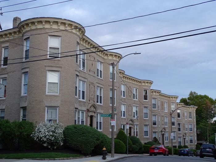 Beige Apartment Buildings