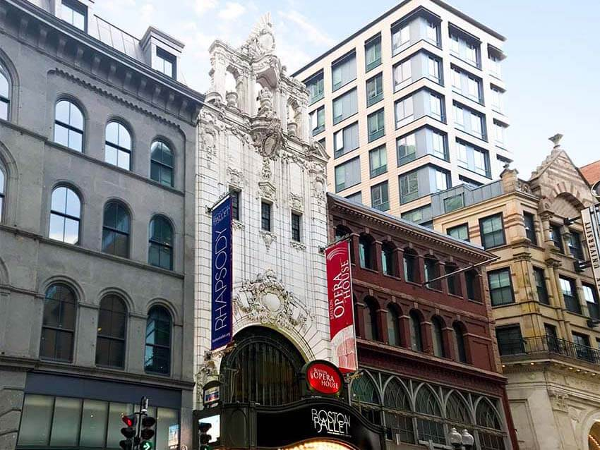Boston Chinatown Theater District