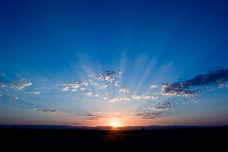 Bright Horizon sunset