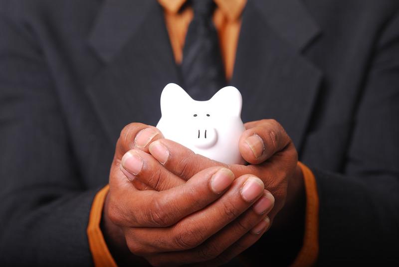 Savings Piggybank for cheap apartment