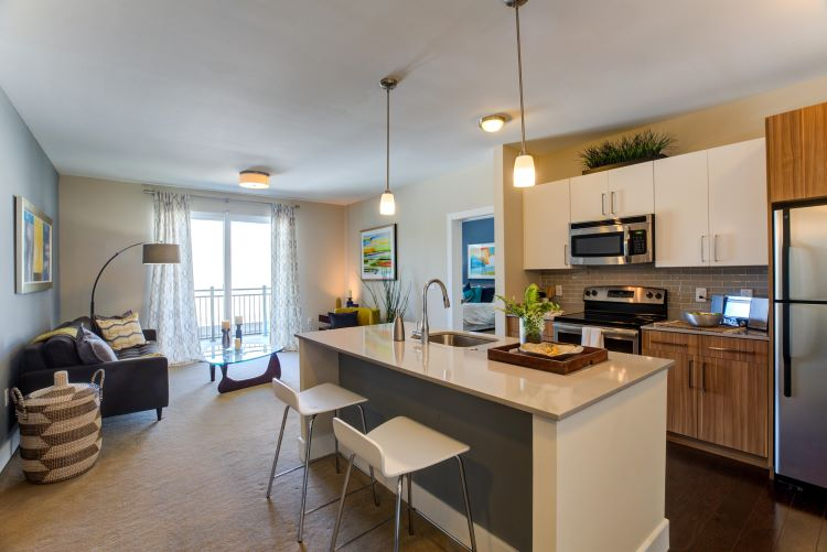 lumiere apartments kitchen