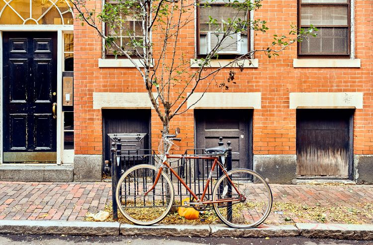 Bicycle in Boston
