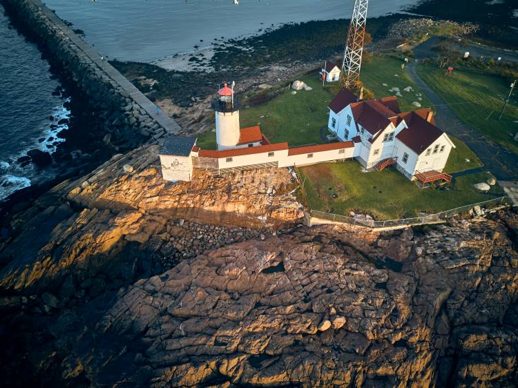 Gloucester Beach Lighthouse