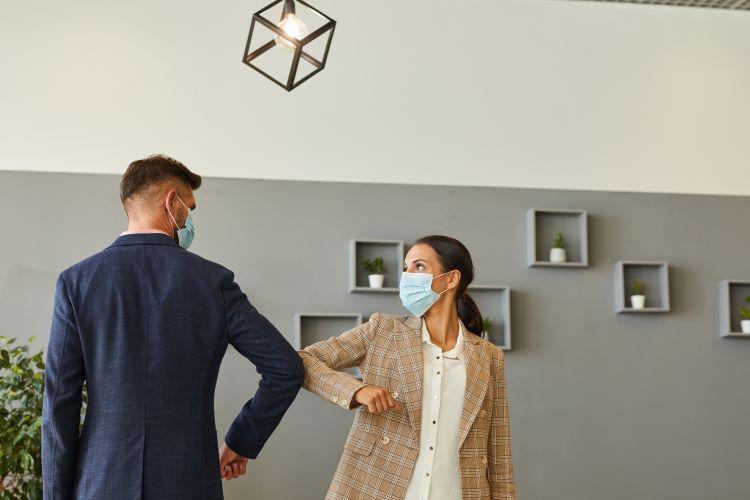 Real Estate Agents Teamwork