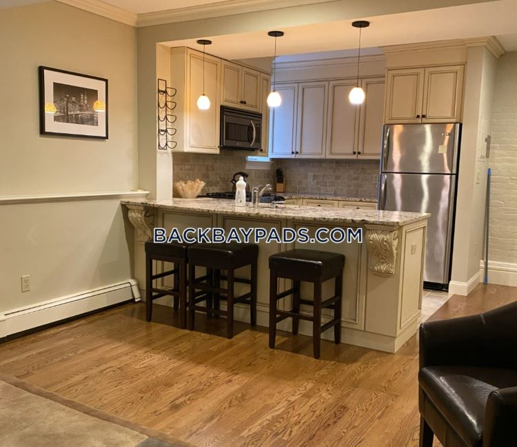 Back Bay furnished apartment