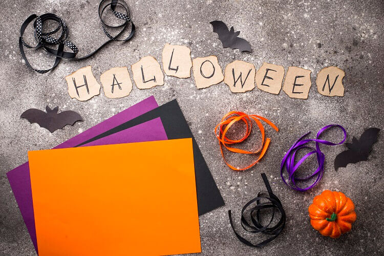 Paper Halloween Art