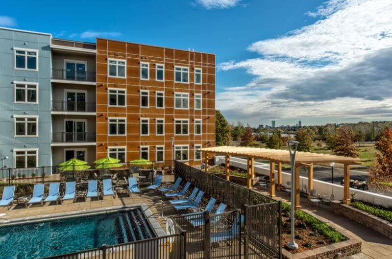 Medford MA Luxury Apartment Building