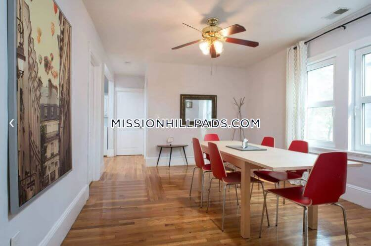 Mission Hill 5 Bedroom for Rent