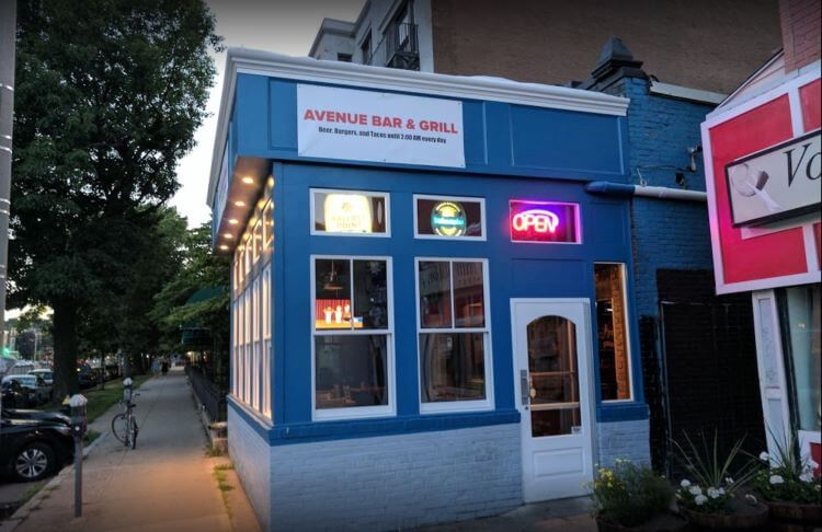 The avenue bar and grill