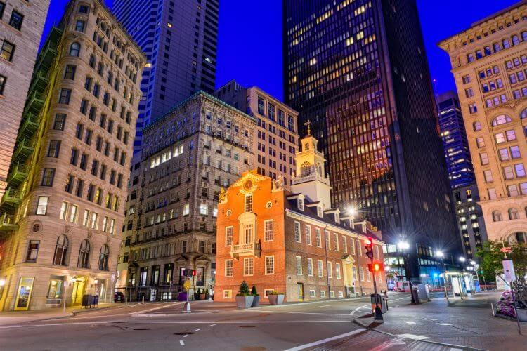 Boston Business District