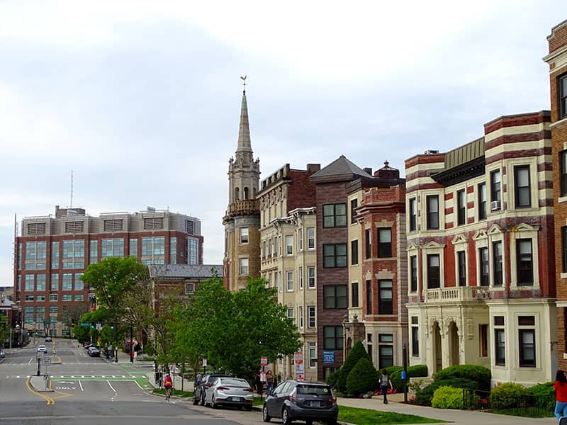 Fenway Apartment Buildings