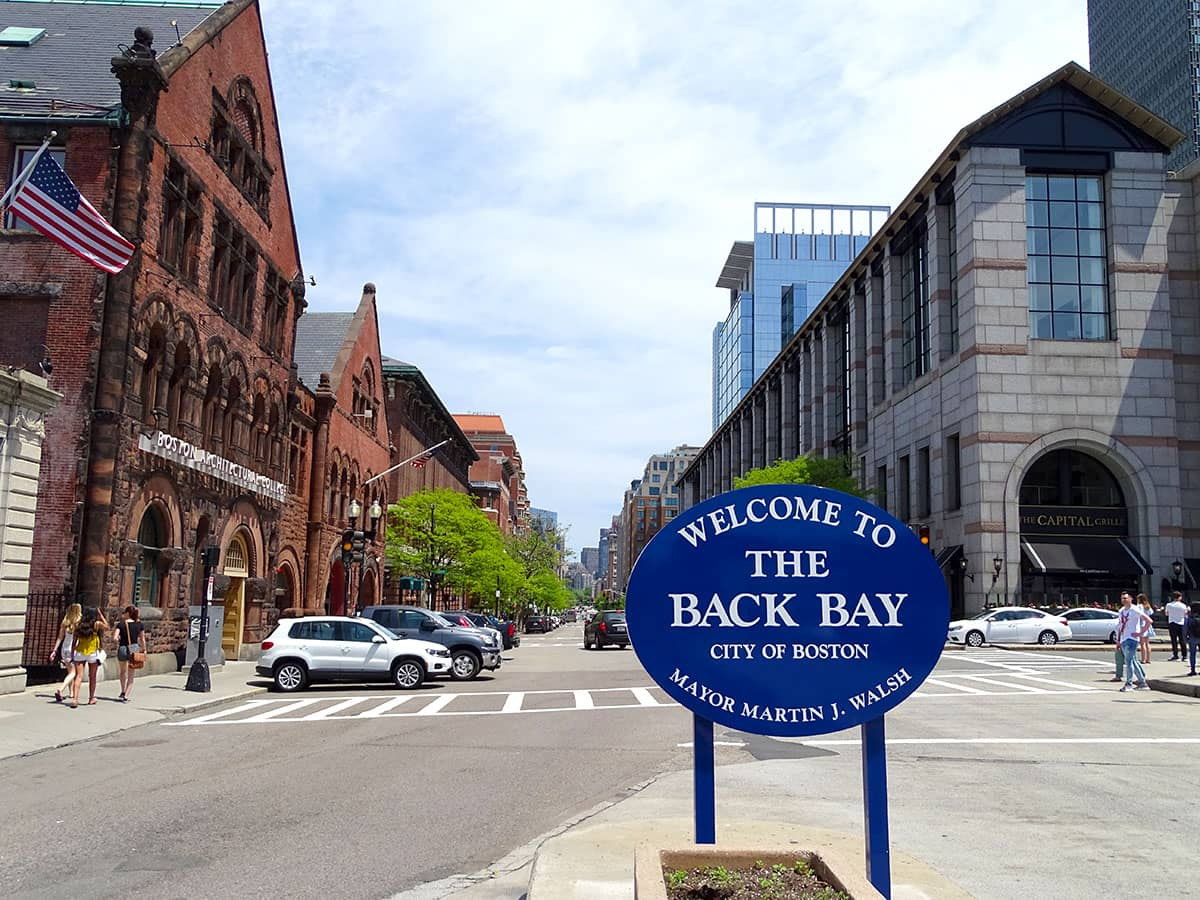 Back Bay, Boston, MA