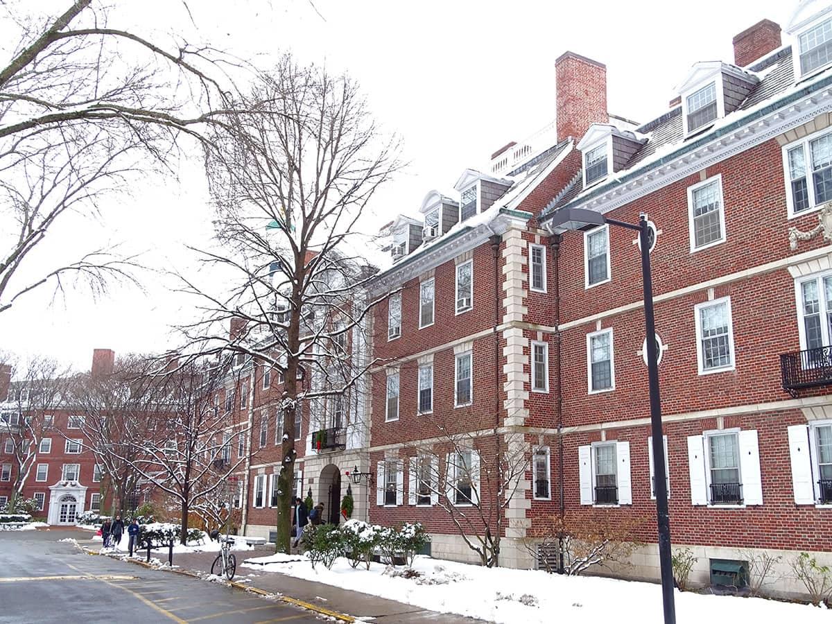 Winter in Cambridge, MA