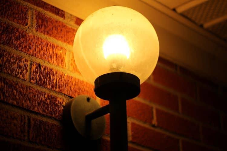 Light Fixture on Outdoor Wall