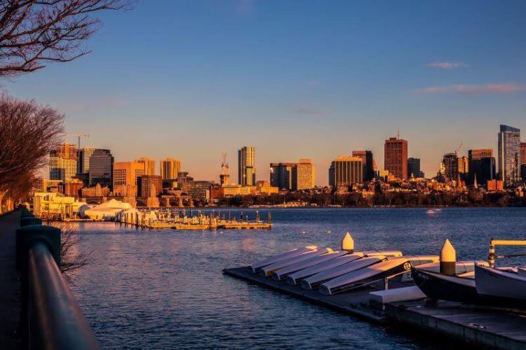 Sunset Boston