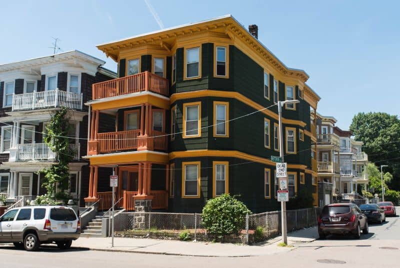 Three family home Boston