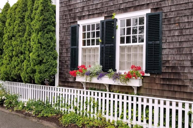 WIndow Boxes in Boston Home