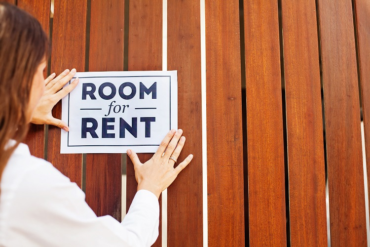 Room for Rent Sign