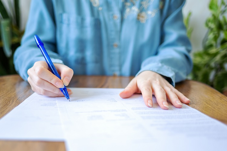 Signing Lease Agreement