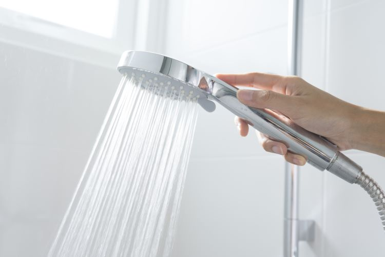 Water pressure check