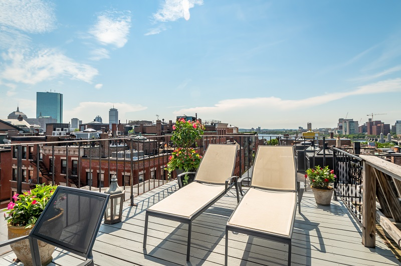 Boston Apartment Roof Deck